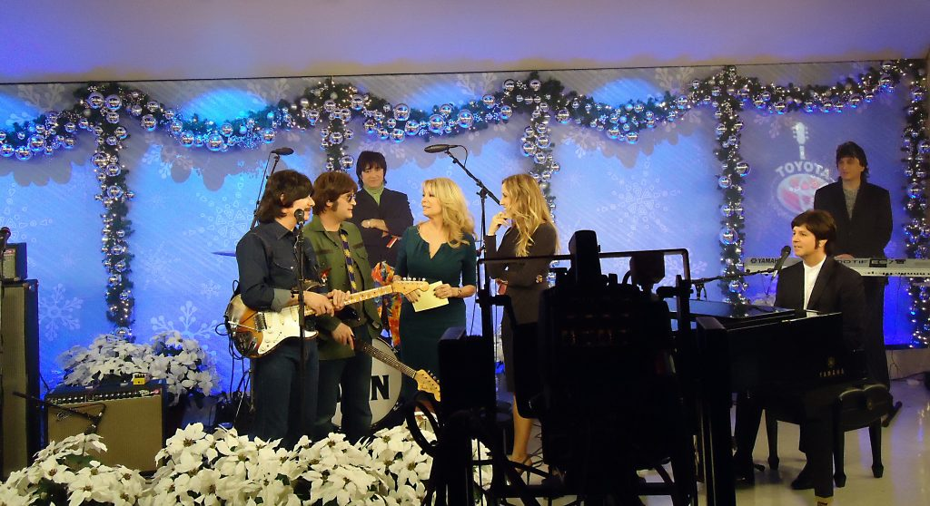 Today Show rehearsal with Kathie Lee and Sheryl Crow
